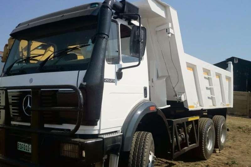 Truck Mercedes Benz Tipper Mercedes Benz 2629 Powerliner 10m3 Tipper 0