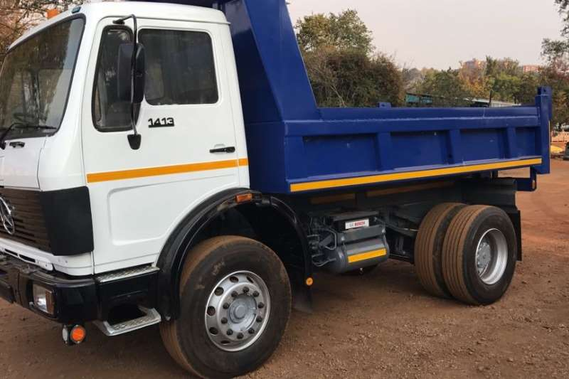 Truck Mercedes Benz Used Mercedes Benz 1413 6m3 Tipper Available 1985