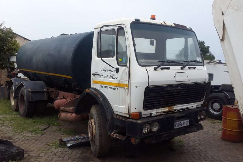 Truck Mercedes Benz Water Tanker 2219 1986