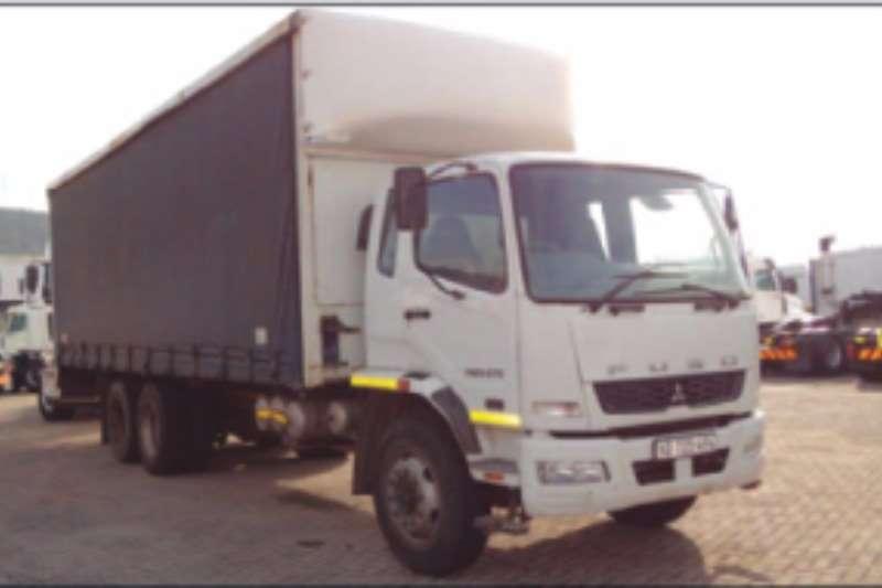 Mitsubishi Curtain side FN 25 270 Truck