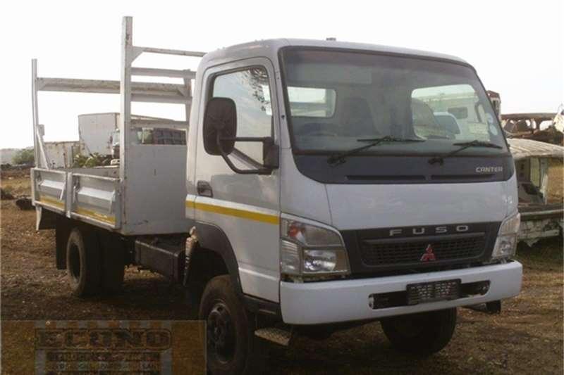 Truck Mitsubishi Dropside FG6-106TD Fuso Canter 4x4 2006