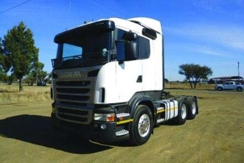 Truck Scania 470 Chassis- 2010