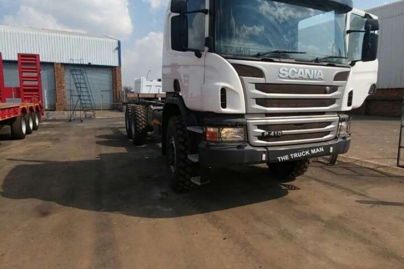 Truck Scania Chassis Cab P410 6X6 2016