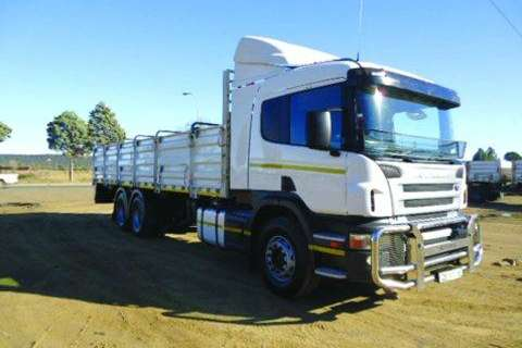 Truck Scania P380 Rigid Chassis- 2013