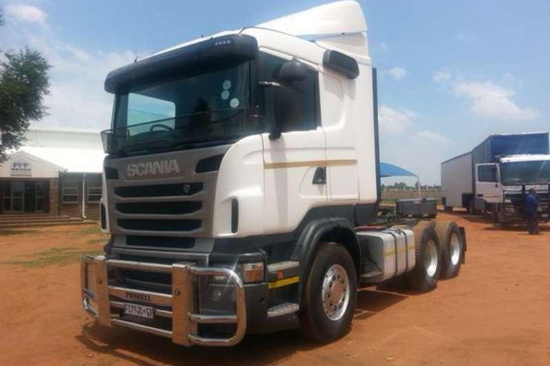 Truck Scania R470 6X4 Mechanical Horse 2012