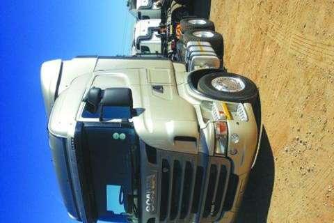 Truck Scania R500  Highliner HP 6x4 TT- 2011