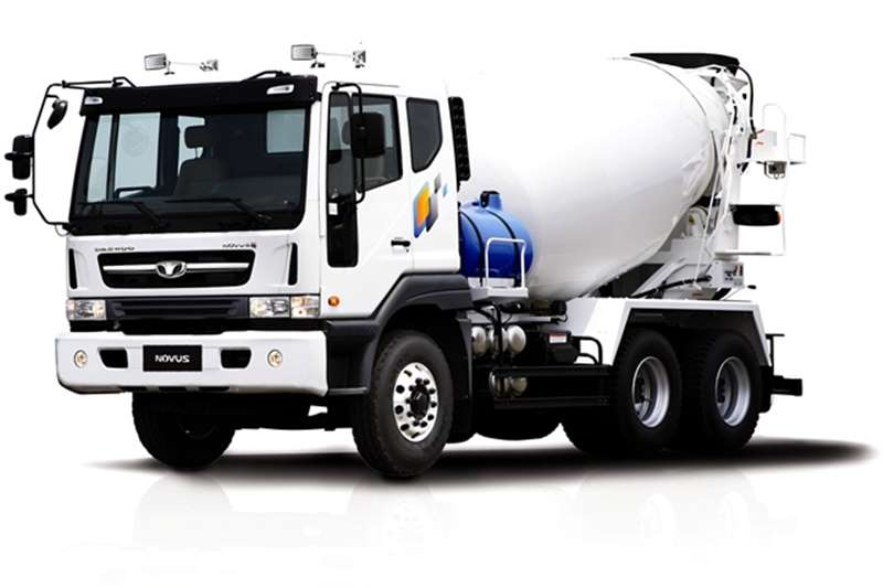 Truck Tata Concrete Mixer Novus K5MVF, 6 Cube 2016