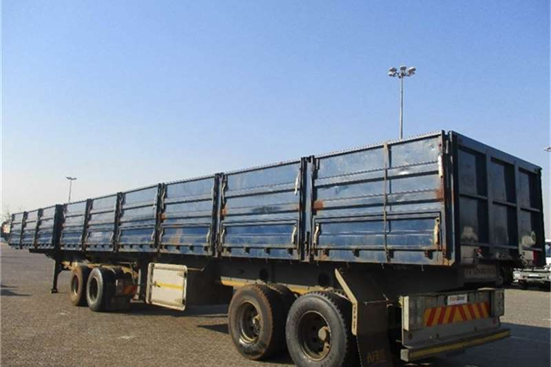 Truck-Tractor Afrit Tubmaster Dropside Side Tipper Interlink Afrit 2014