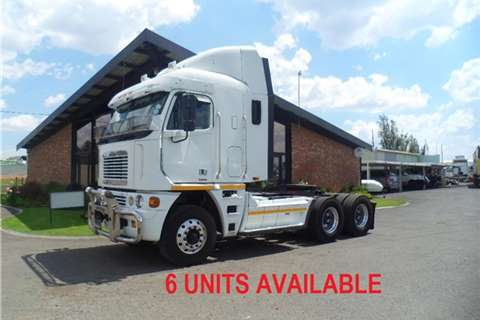 Truck-Tractor Freightliner ARGOSY ISX 620 CUM 6UNITS AVAB 2012