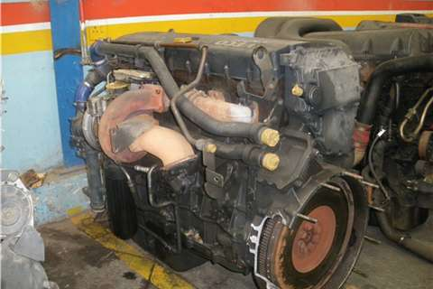 Truck-Tractor Iveco Cursor F3B Engine 2009