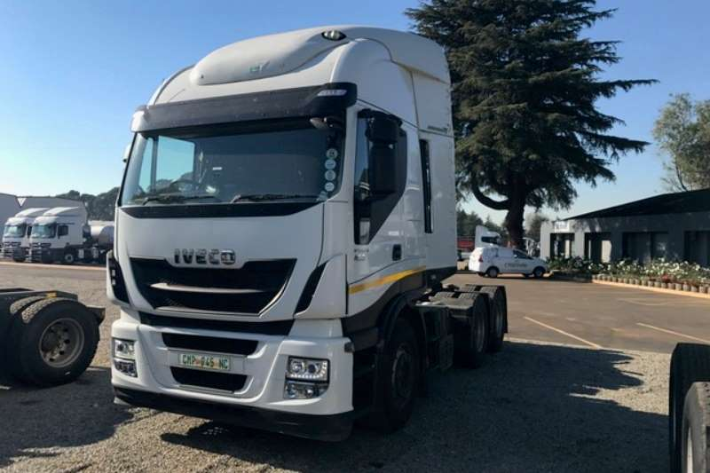 Truck-Tractor Iveco  Double Axle 1 x Iveco Stralis 480 6x4 T/T 2015