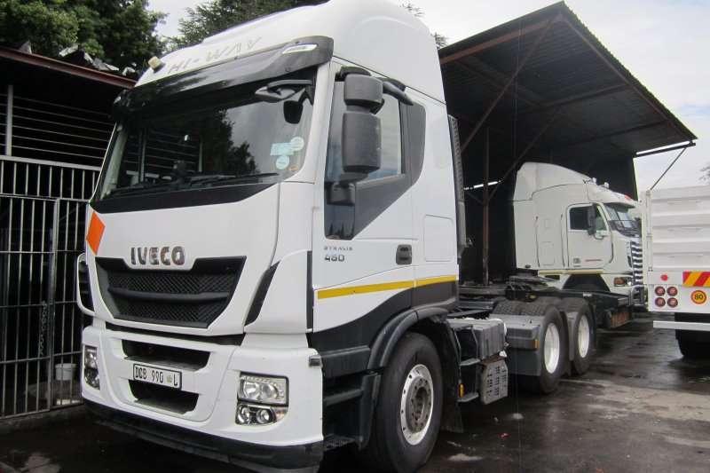 Truck-Tractor Iveco  Double Axle Stralis 480 Hi-Way 2013