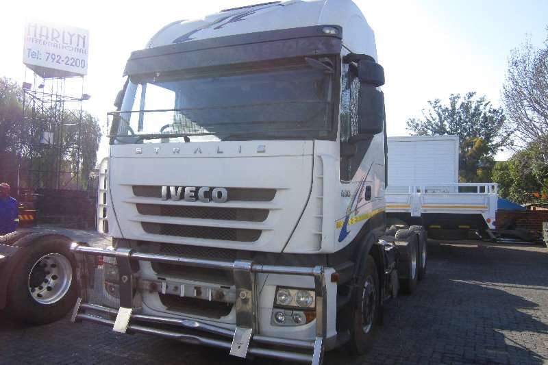 Truck-Tractor Iveco  Double Axle Stralis 480 with Bull Bar 2010