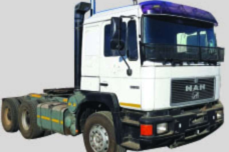 Truck-Tractor MAN  Double Axle 26-552 1996