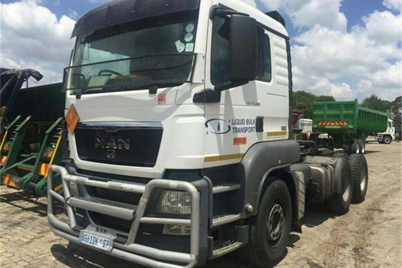Truck-Tractor MAN  Double Axle Man TGS 27-480 6X4 2011