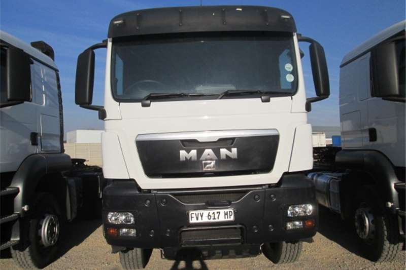 Truck-Tractor MAN Double Axle TGS 33.440 2012