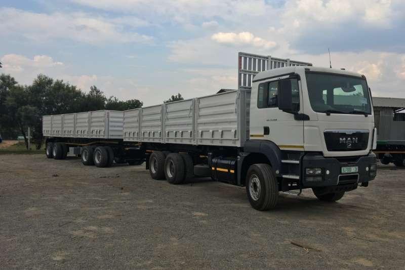 Truck-Tractor MAN  Double Axle TT & PRBB Unit 2017