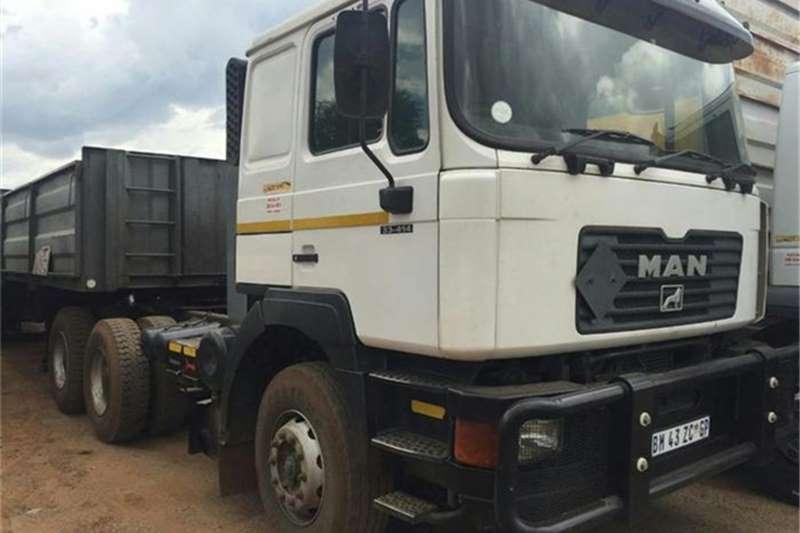 Truck-Tractor MAN Man 27-414 6x4 T/T 2004