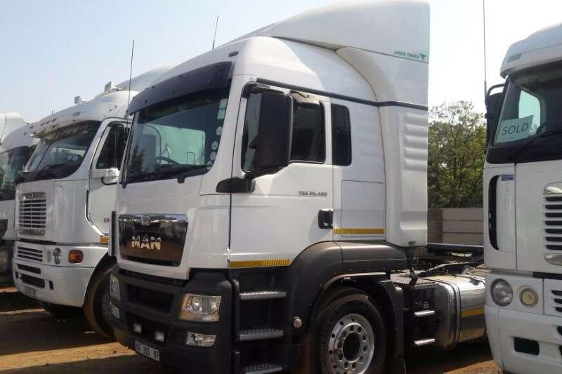 Truck-Tractor MAN TGS 26-480 2016