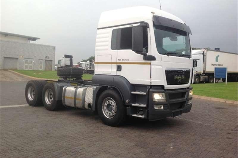 Truck-Tractor MAN TGS 26.480 MAN 2011