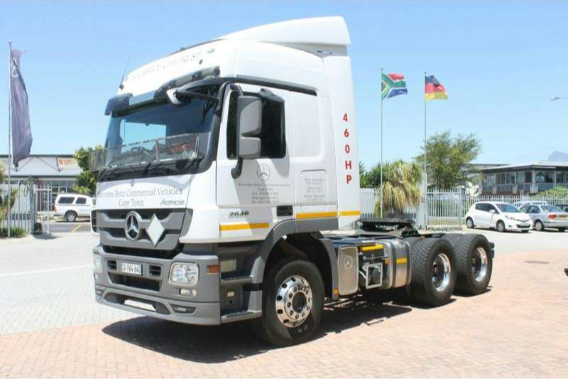 Truck-Tractor Mercedes Benz  Double Axle Actros 2646LS/33 Direct Drive 6x4 with Hydraulics 2016