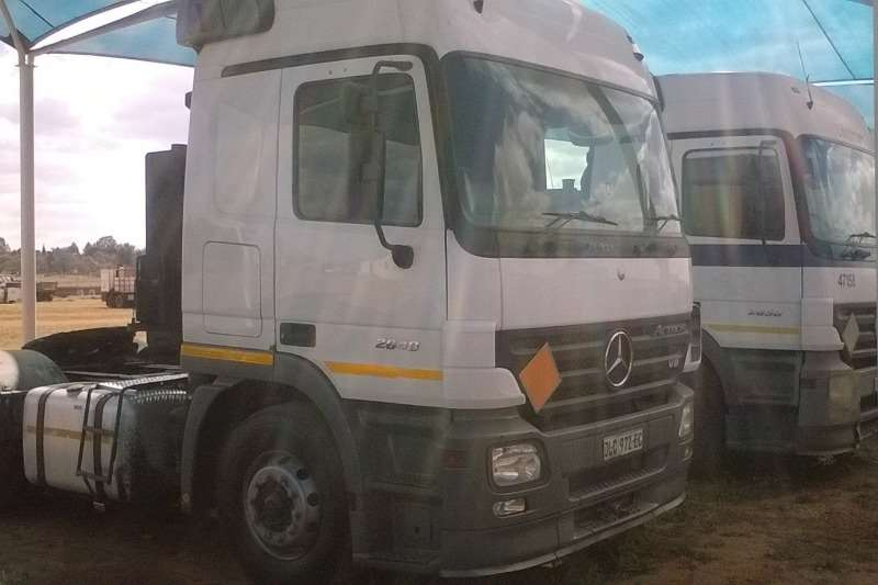 Truck-Tractor Mercedes Benz  Double Axle Actros 2648 MP2 2006