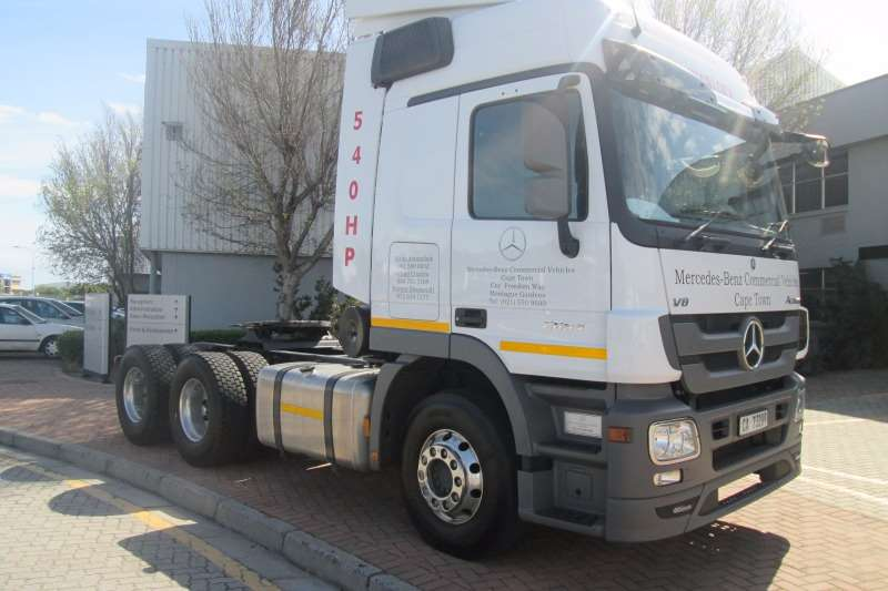 Truck-Tractor Mercedes Benz  Double Axle Actros 2654LS V8 Direct Drive 6x4 2017
