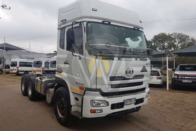 Truck-Tractor Nissan Quon GW26-450 2016