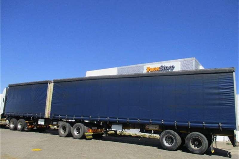 Truck-Tractor SA Truck Bodies Tautliner Interlink Semi Trailer Sa Truck Bodies 2008