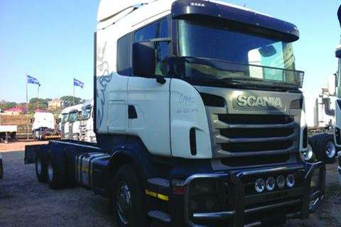 Truck-Tractor Scania 6x4,T/T,LWB,CHASSIS CAB- 2012