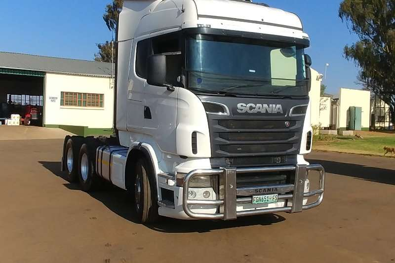 Truck-Tractor Scania  Double Axle 2013 Scania R500 2013