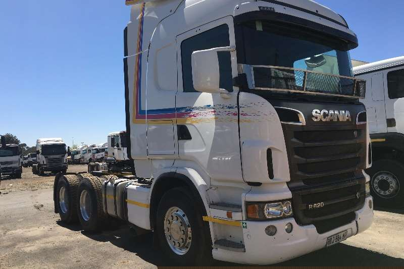 Truck-Tractor Scania  Double Axle 2013 Scania R620 2013