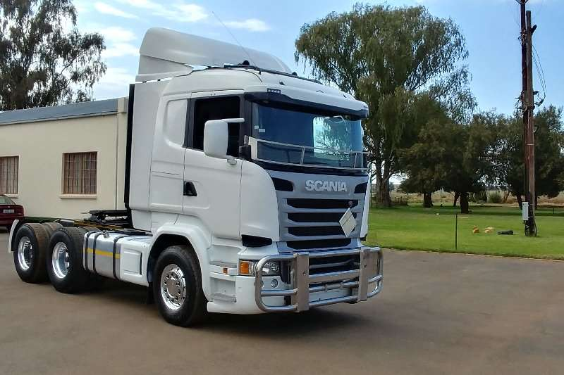 Truck-Tractor Scania  Double Axle 2015 Scania R460 2015