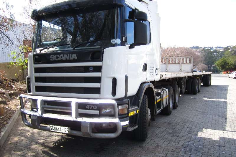 Truck-Tractor Scania  Double Axle R124 : 470 2002