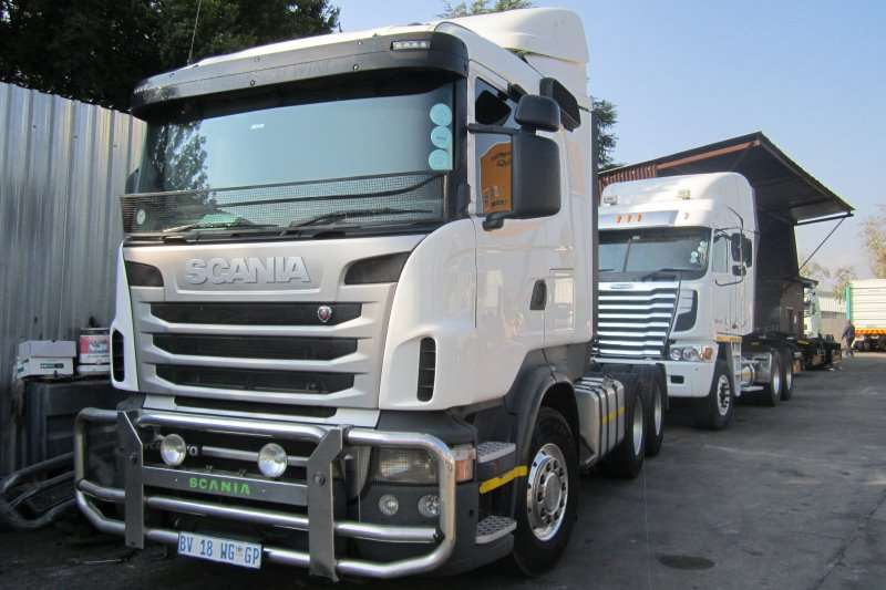 Truck-Tractor Scania  Double Axle R470 2012