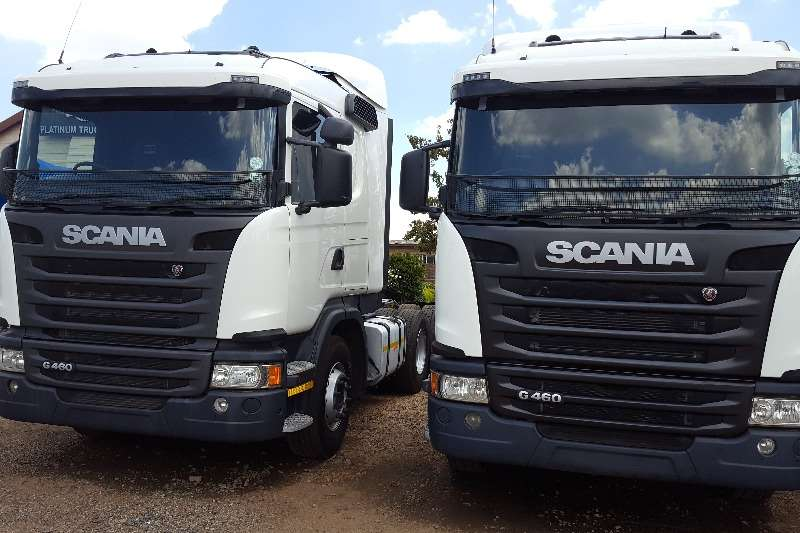 Truck-Tractor Scania  Double Axle SCANIA G460 2013