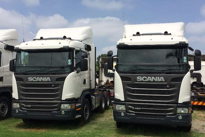 Truck-Tractor Scania  Double Axle Scania G460 2014