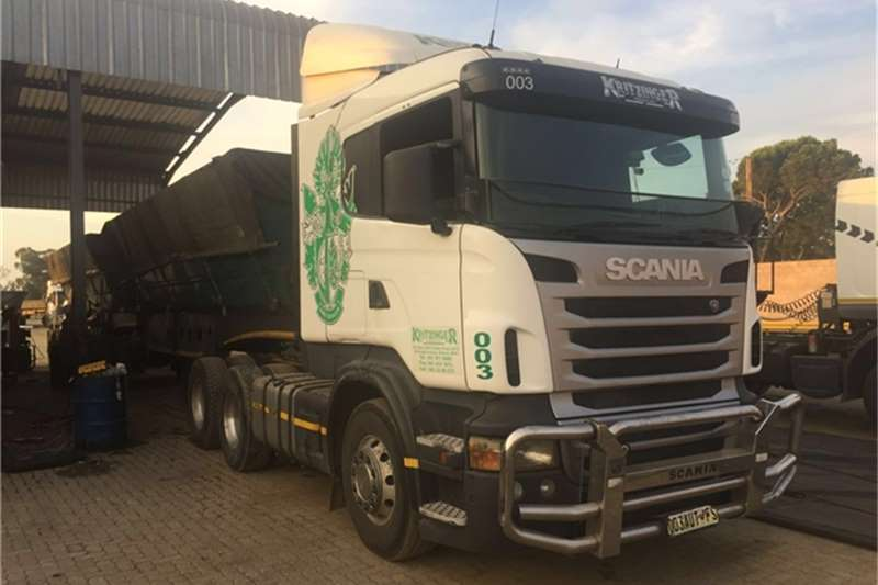 Truck-Tractor Scania  Double Axle Scania R410  2012