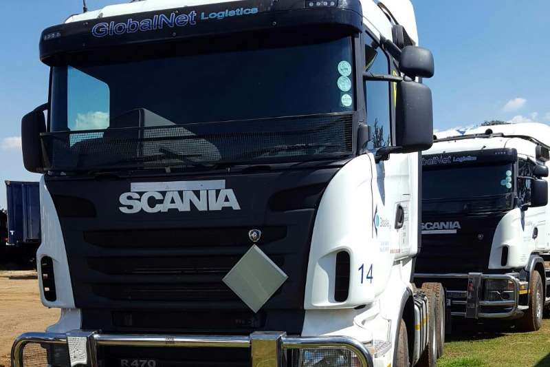 Truck-Tractor Scania  Double Axle SCANIA R470 2011