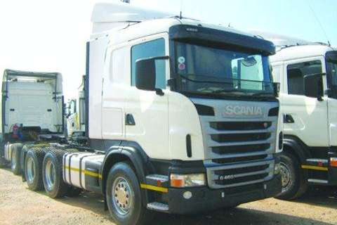Truck-Tractor Scania G460HP 6x4 T/T- 2013