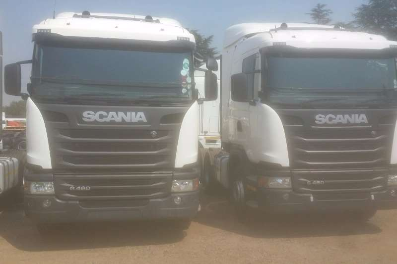 Truck-Tractor Scania R 460 2013