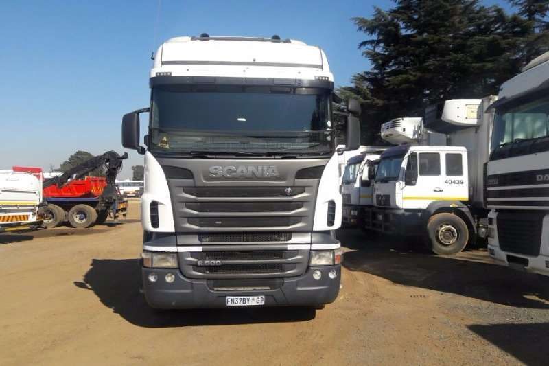 Truck-Tractor Scania R500 2011