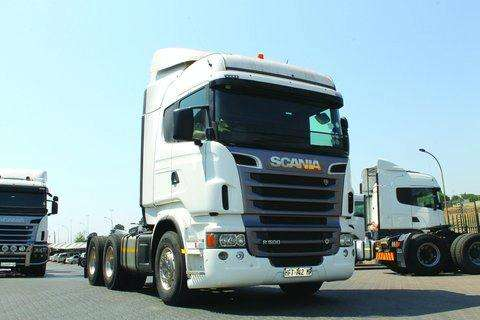 Truck-Tractor Scania R500 HL- 2012