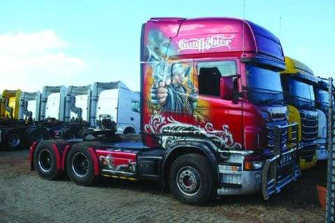 Truck-Tractor Scania R580 HP 6x4 T/T Limited Edition- 2013