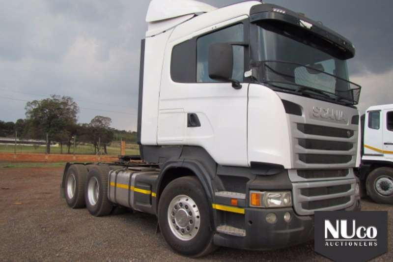 Truck-Tractor Scania SCANIA R470 6X4 HORSE 2013