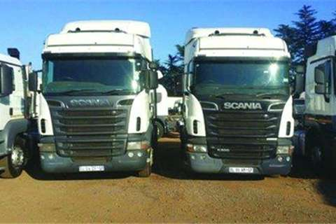 Truck-Tractor Scania Scania R500- 2011