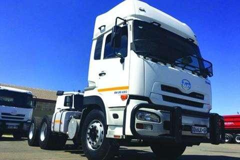 Truck UD Chassis Cab UD GW 26-490 TT 6X4- 2014