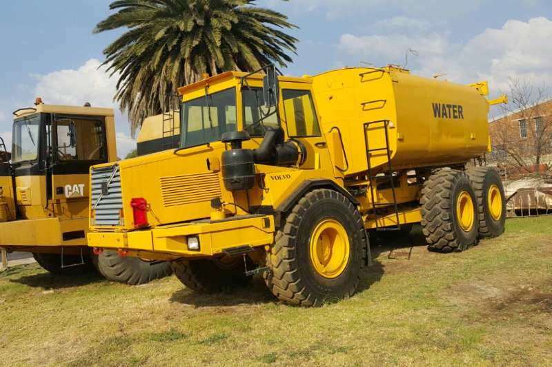 Truck Volvo Water Tanker Volvo A25C Water Tanker 0