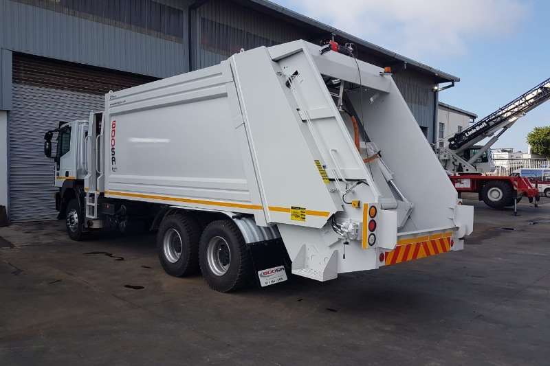 UD Compactor New UD Quester 19 Cube Compactor and Crewcab Truck