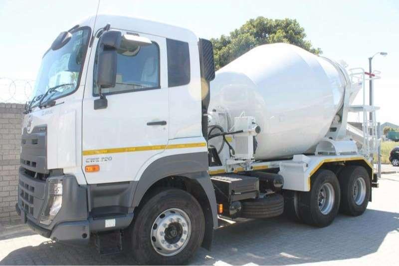 UD Concrete mixer Quester CWE 330 Auto   Allison Gearbox Truck